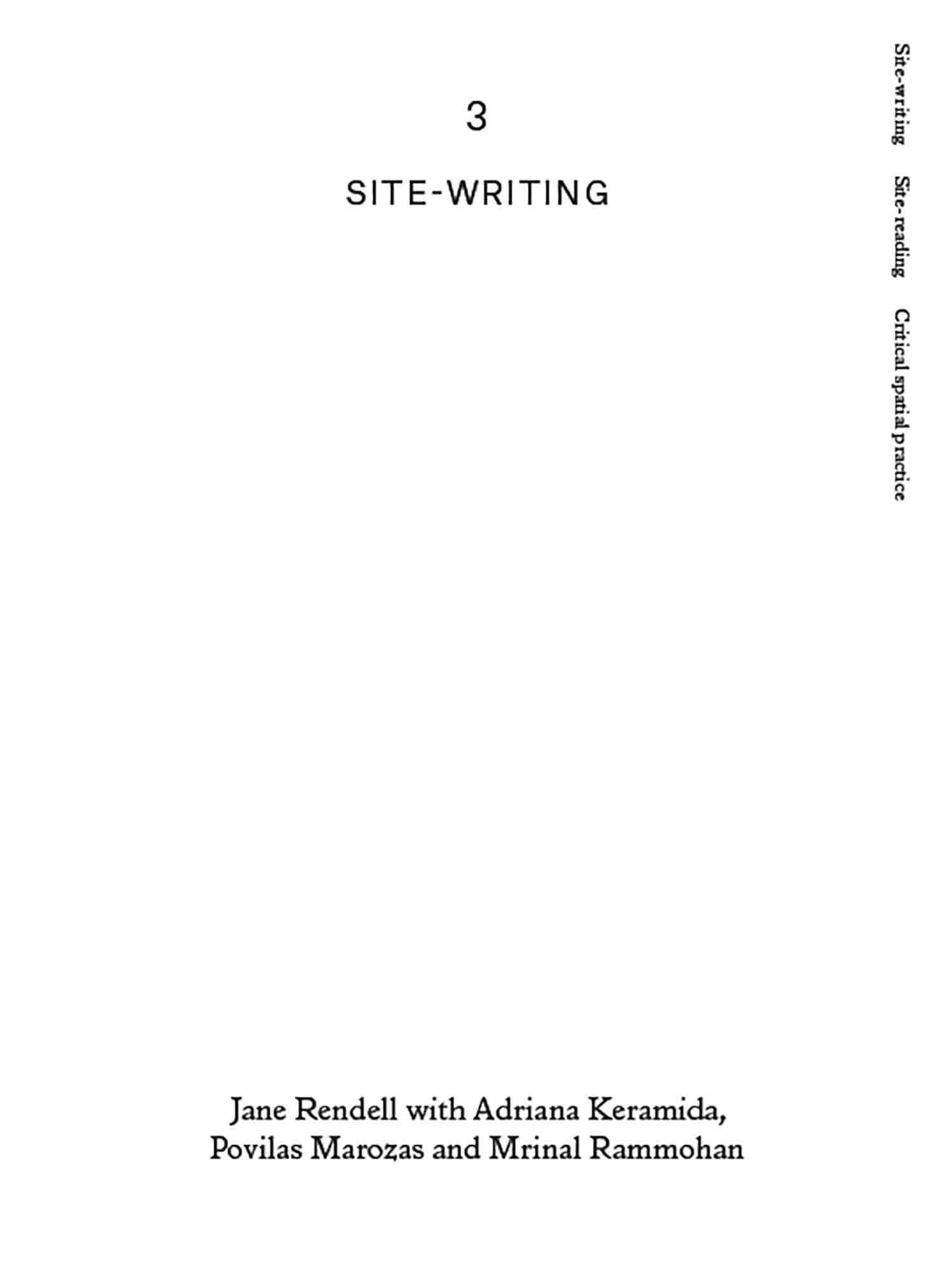Site-Writing/Site Reading, Engaged Urbanism (35)
