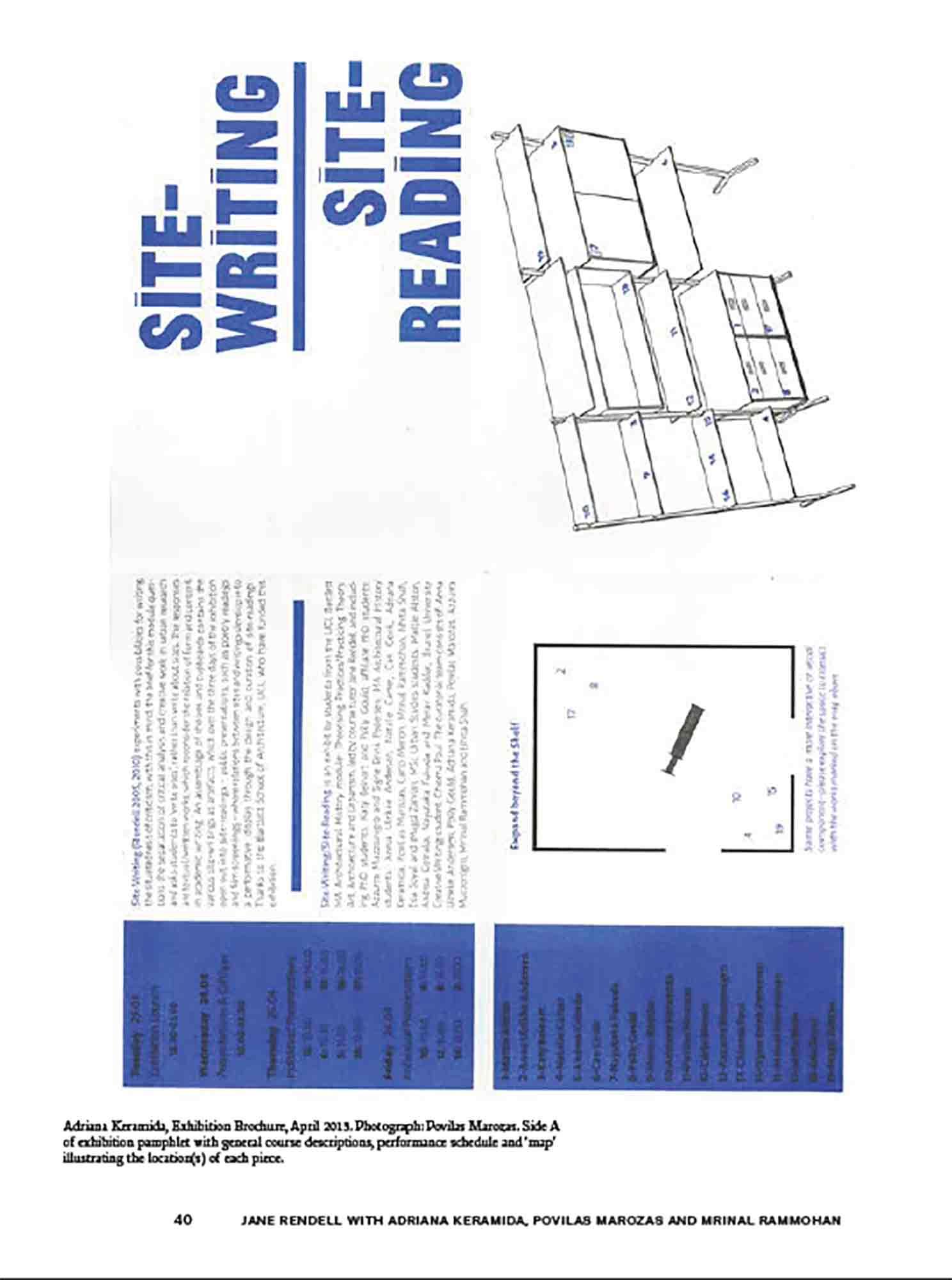 Site-Writing/Site Reading, Engaged Urbanism (40)