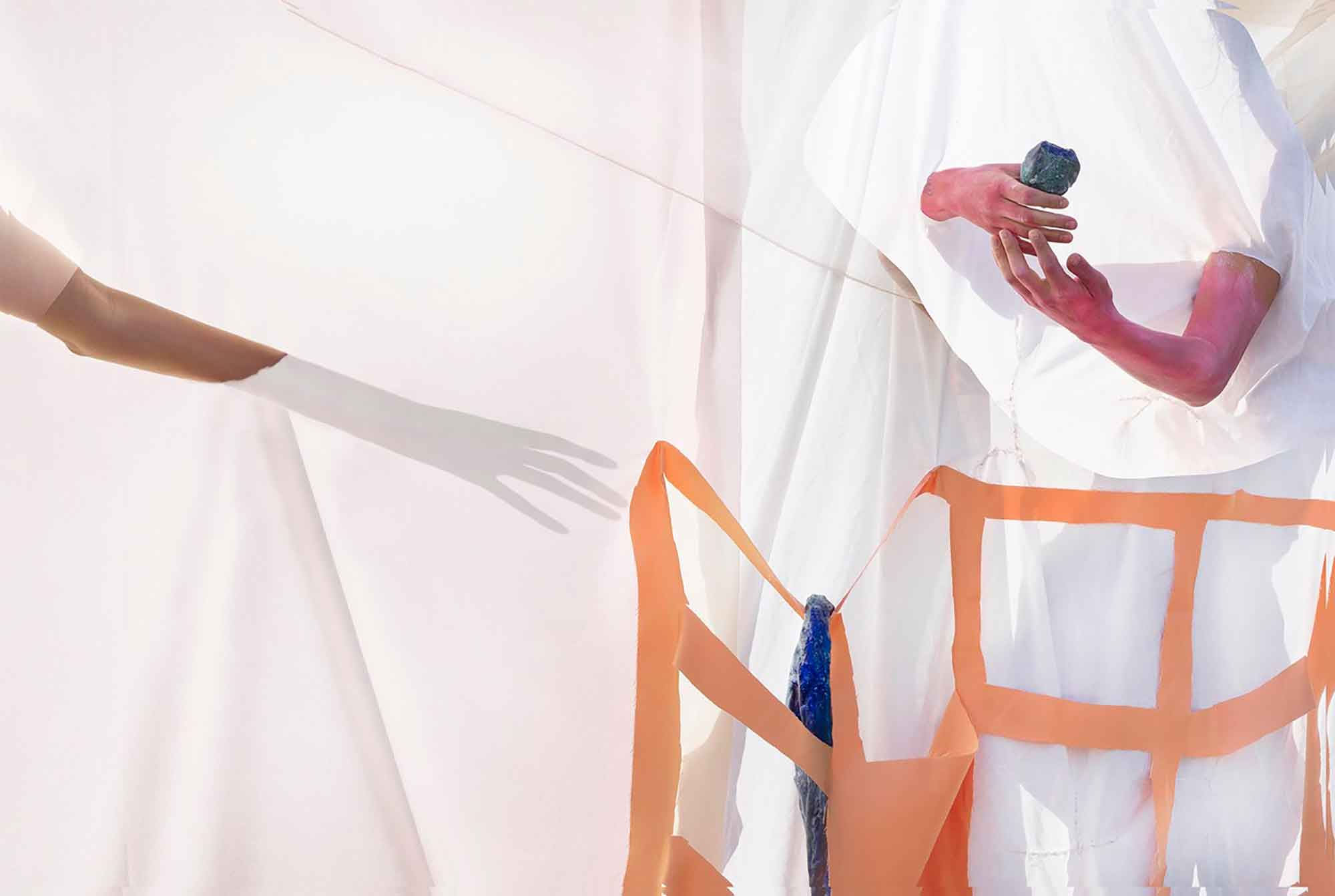Brianna Speight, Where the snakes hang, 2019, 73 x 110cm, giclee print. Photograph: Brianna Speight.