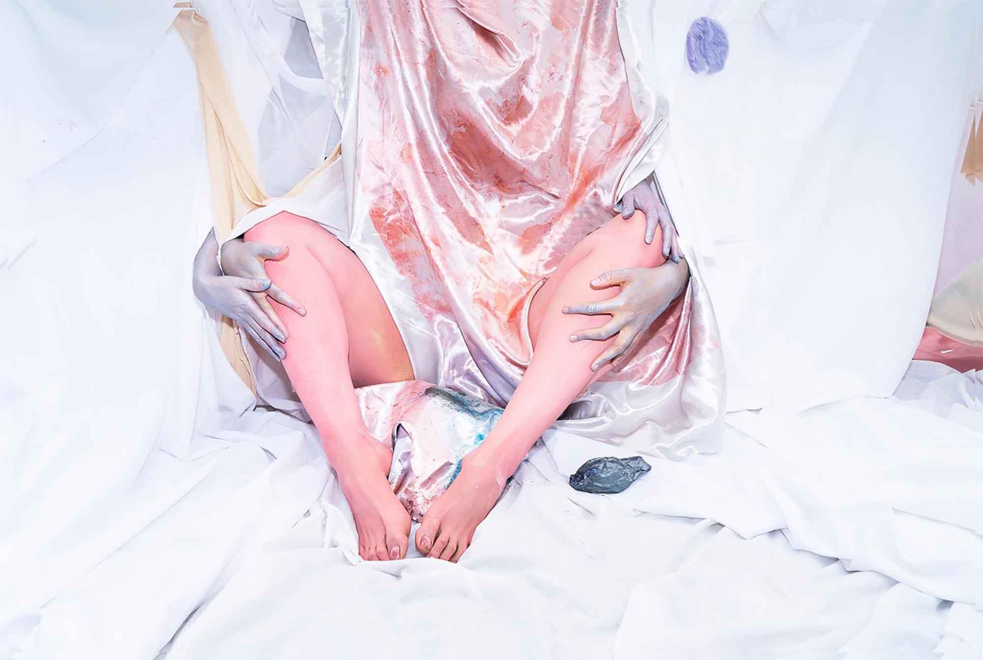 Brianna Speight, Pearl (after Jefferis), 2019, 63 x 95cm, giclee print. Photograph: Brianna Speight.