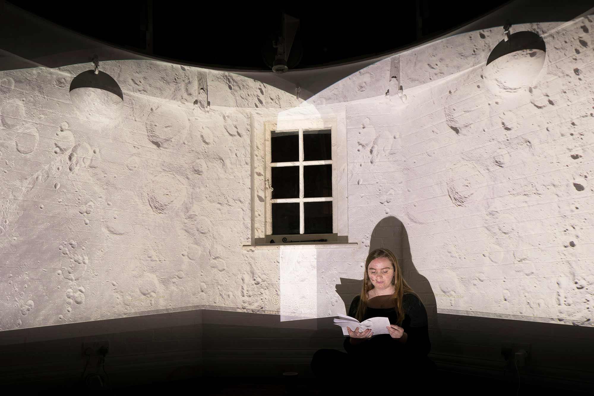 A Lunar Perspective 1:  Photograph by Henrietta Williams