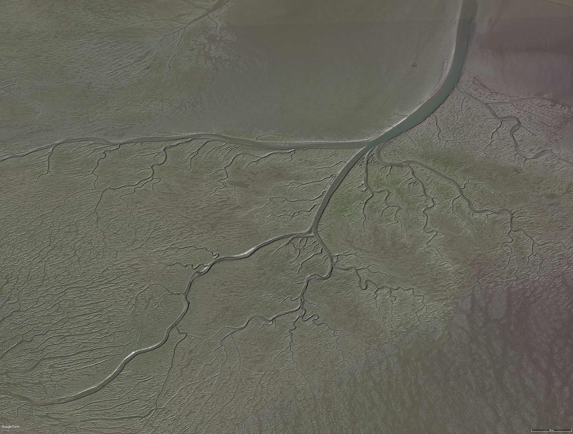 A Lunar Perspective 5:  Image from Google Earth